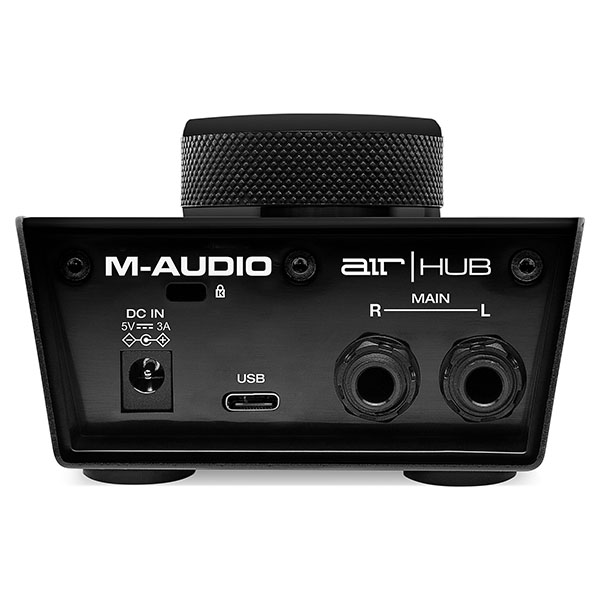 M-Audio AIR Hub USB Monitoring Interface with Built-In 3-Port Hub M-Track HUB후속모델