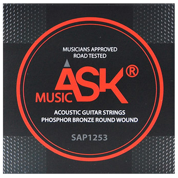 ASK MUSIC PHOSPHOR BRONZE 통기타 스트링 SAP1253 (012-053)