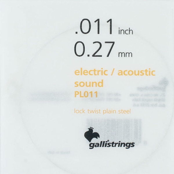 Galli String ProCoated Electric&Acoustic 낱줄 011(PL011)
