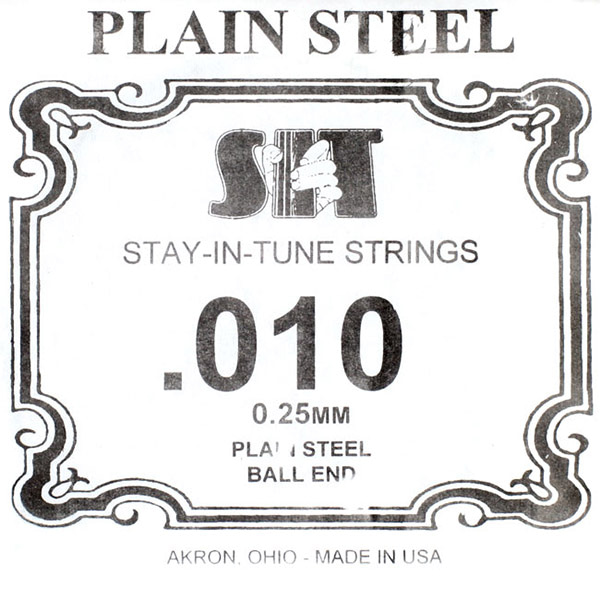 S.I.T Plain Steel Ball End 낱줄 010