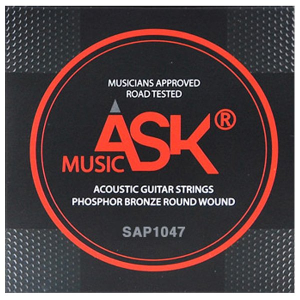ASK MUSIC PHOSPHOR BRONZE 통기타 스트링 SAP1047 (010-047)