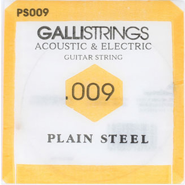 Galli String Acoustic&Electric Plain Steel 009낱줄(PS009)